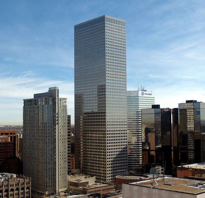 Republic Plaza es el rascacielos más alto en Denver