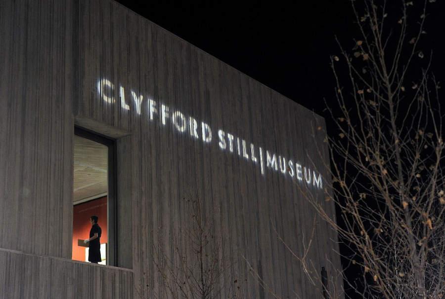 El Museo Clyfford Still exhibe la obra del pintor expresionista Clyfford Still
