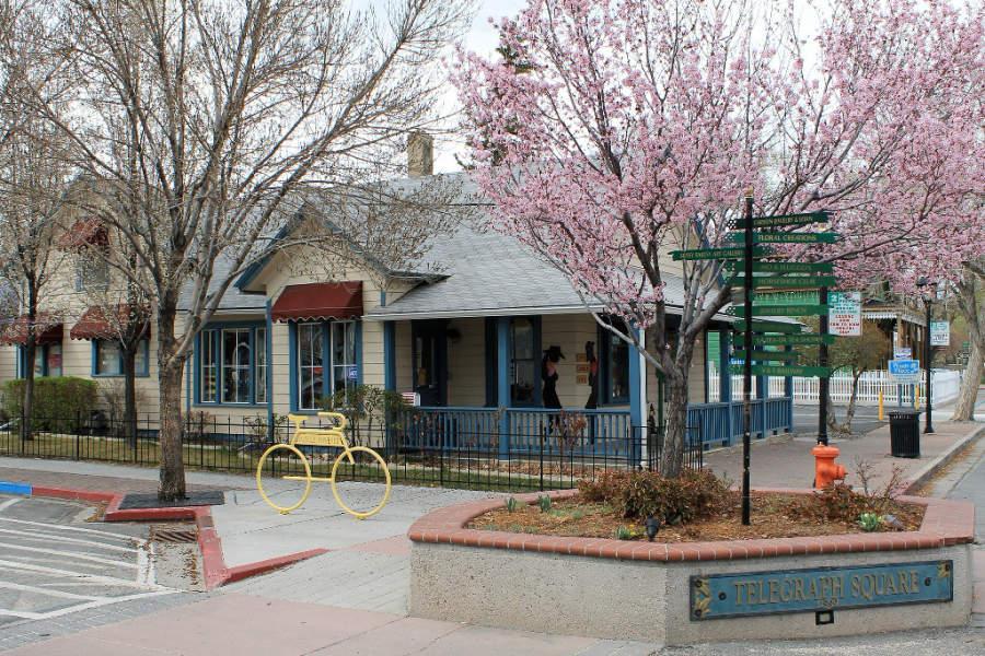 Plaza en la ciudad de Carson City