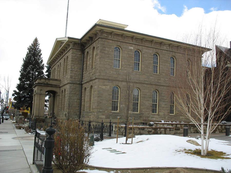 El Museo Estatal de Nevada está alojado en un edificio de 1866