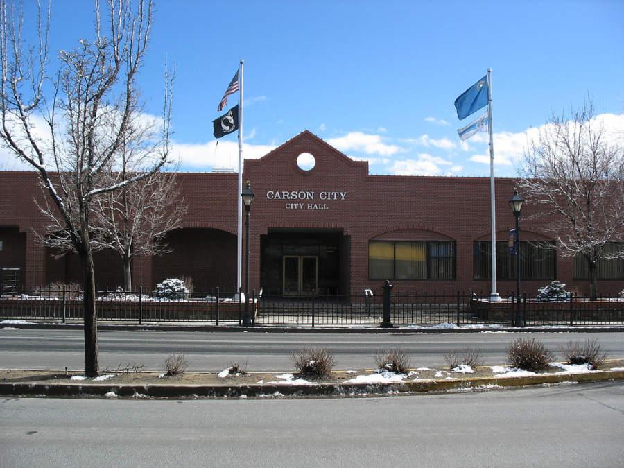 Palacio Municipal de Carson City, Nevada