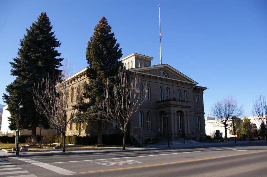 Museo Estatal de Nevada en la ciudad de Carson City
