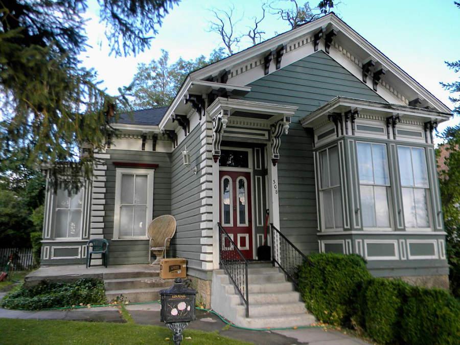 Antigua casa en la ciudad de Carson City