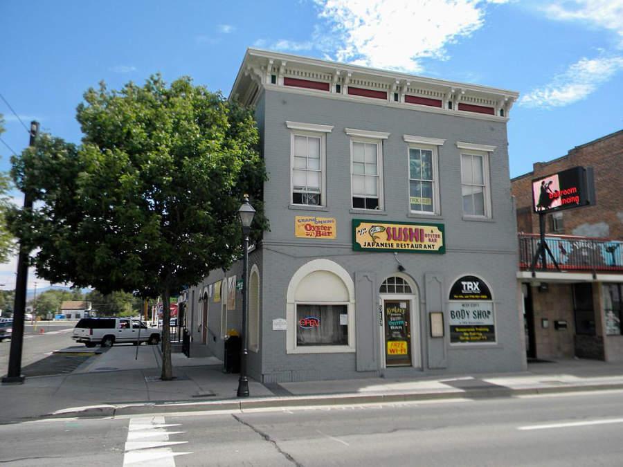 Edificios del centro de la ciudad de Carson City