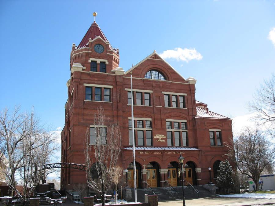 Edificio en la ciudad de Carson City