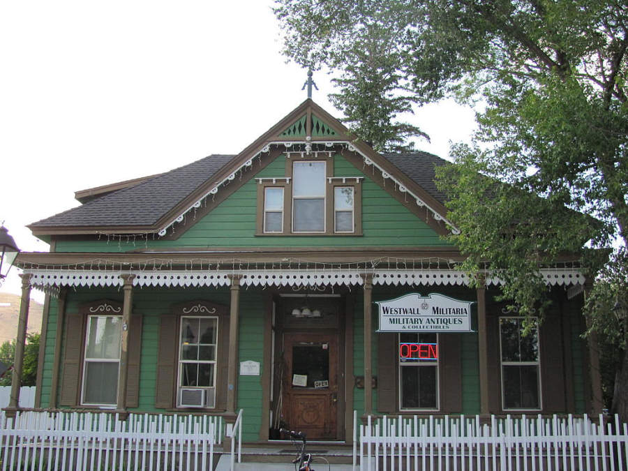Casa de Alfred Chartz en el distrito histórico de Carson City