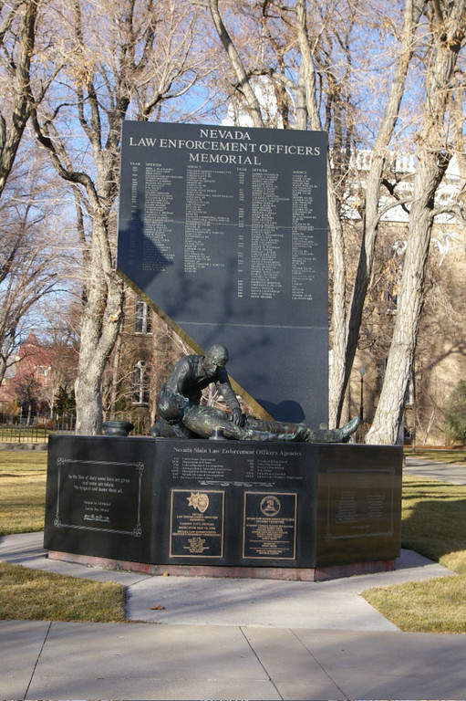 Monumento a la Fuerza Policial de Carson City