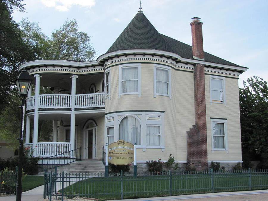 Mansión Brougher, edificio histórico de la ciudad de Carson City