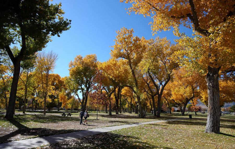 Parque Mills en la ciudad de Carson City, Nevada