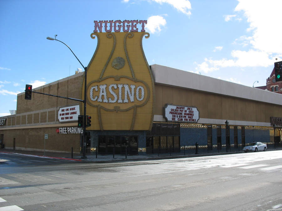 Casino Nugget en el centro de Carson City, Nevada