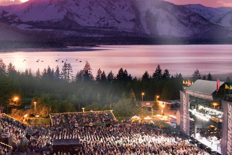 Concierto en las instalaciones del hotel Harvey's Lake Tahoe en Stateline