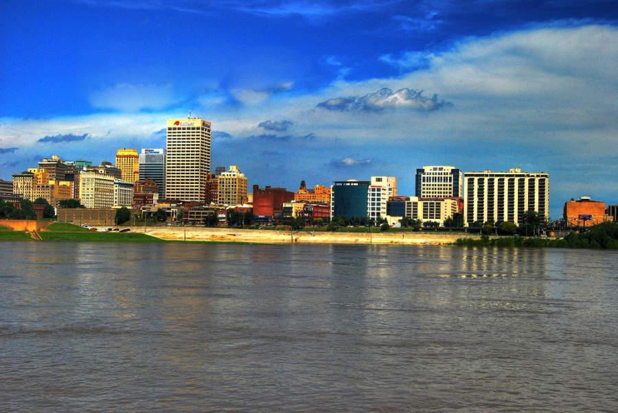 Memphis se ubica a orillas del río Misisipi