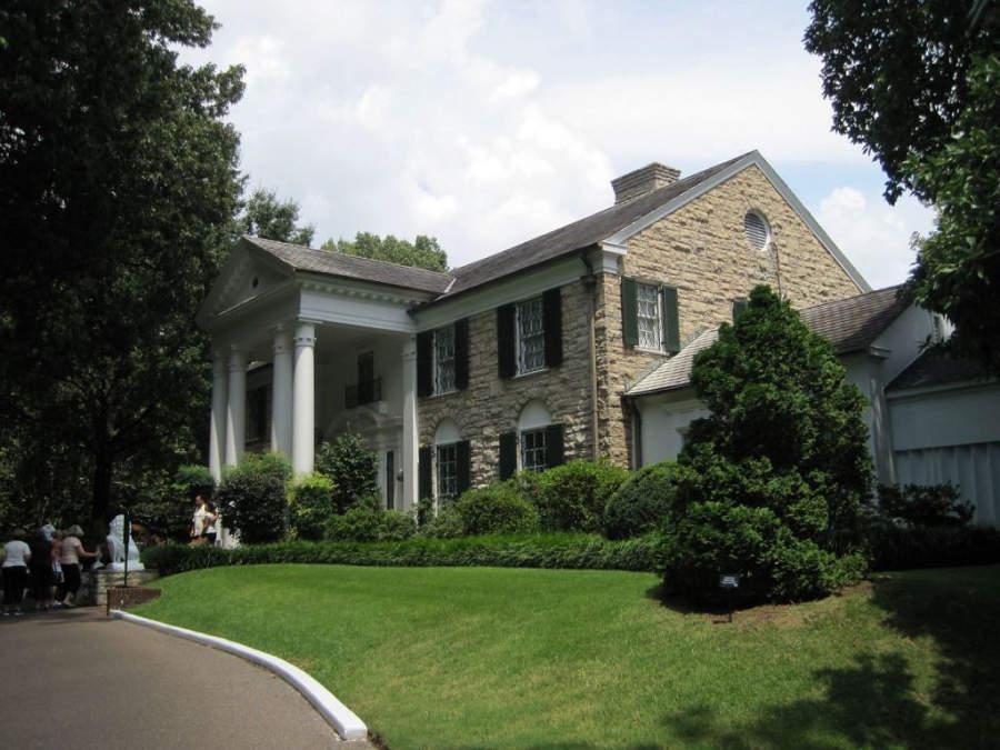 Graceland, casa donde Elvis Presley vivió