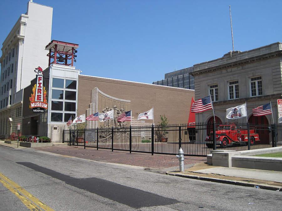 Museo del Fuego en Memphis, Tennessee