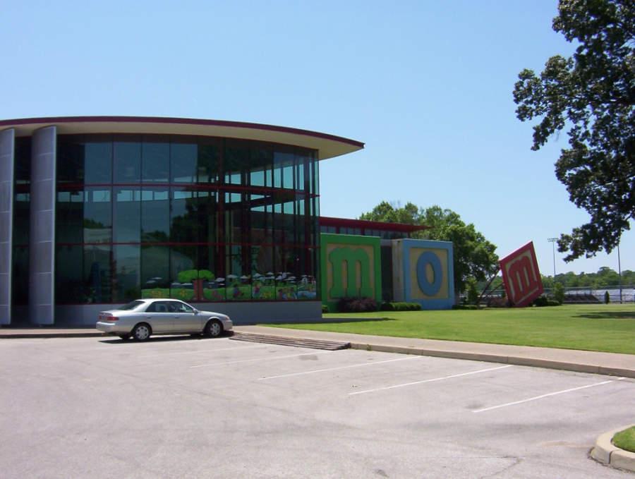 Vista exterior del Museo de los Niños de Memphis, Tennessee