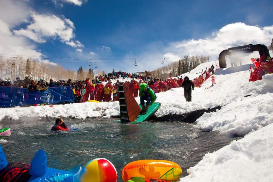 Actividades durante el invierno en Snowmass
