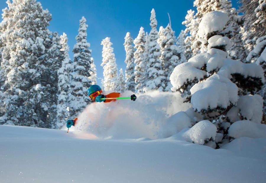 Esquiadores de todos los niveles acuden a la zona de esquí Snowmass