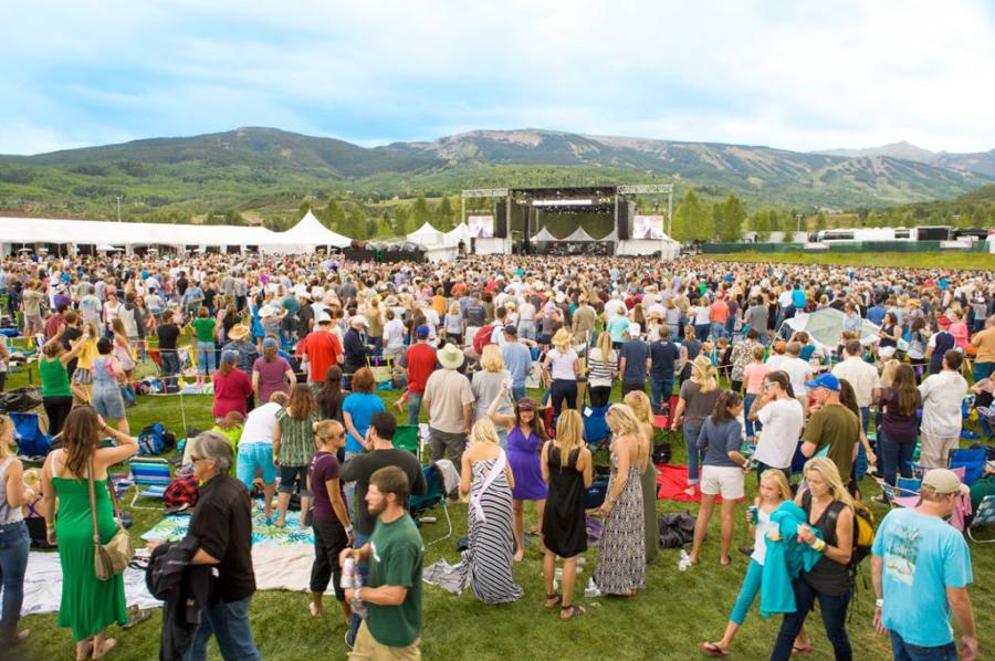 Concierto durante el festival Jazz Aspen Snowmass
