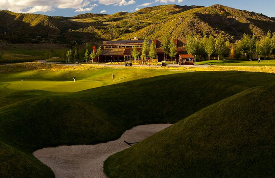 Campo de golf del Snowmass Club en Snowmass Village