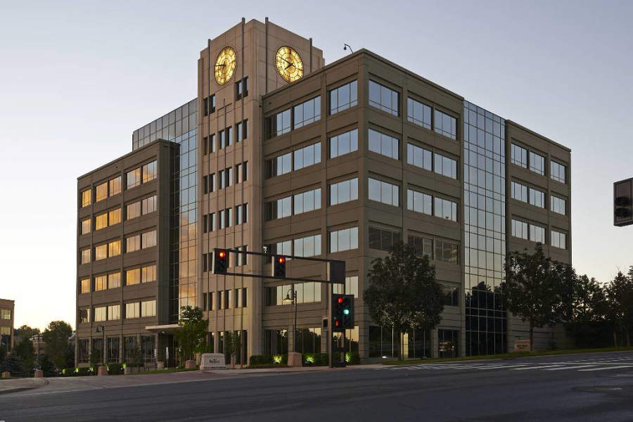 Edificio en el área de Denver Technological Center en Greenwood Village