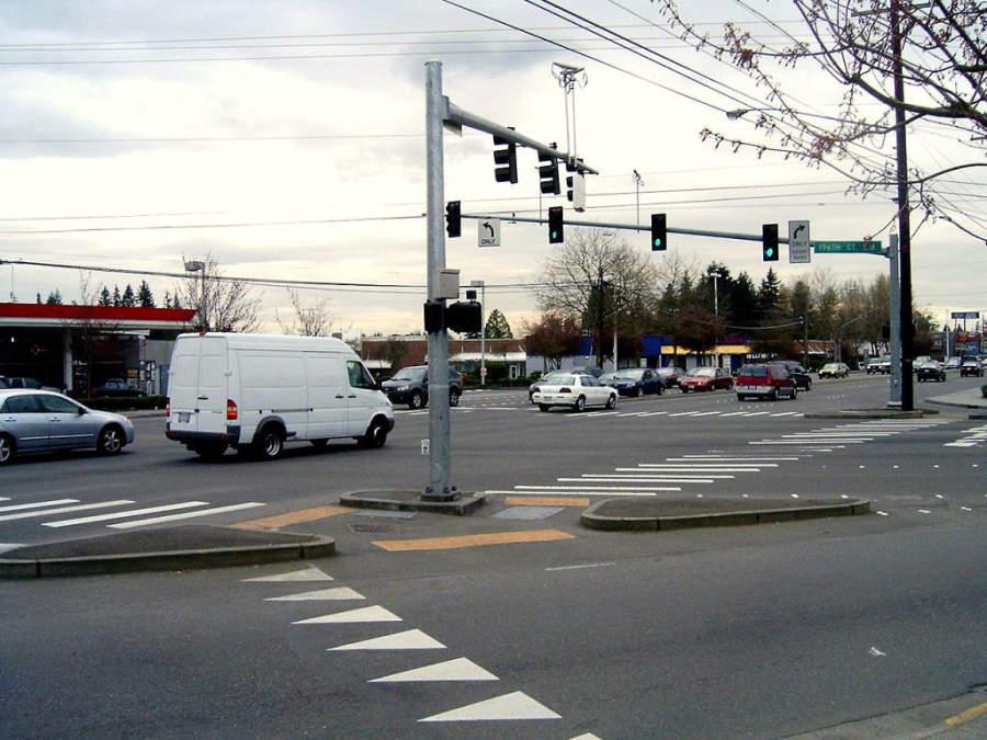 Avenidas de la ciudad de Lynnwood