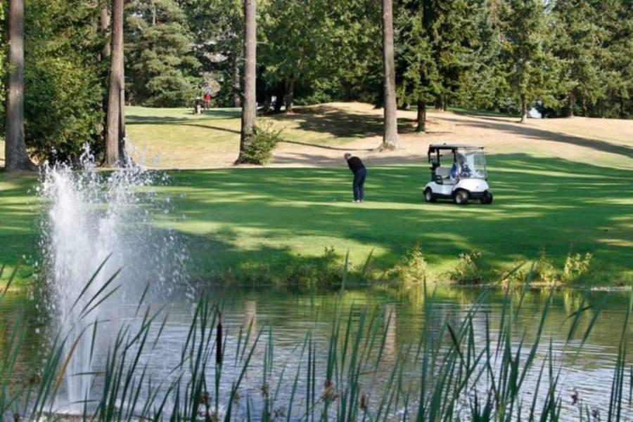 Campo de golf en Lynnwood