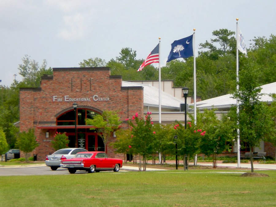 Exterior del recinto Fire Museum and Educational Center en North Charleston