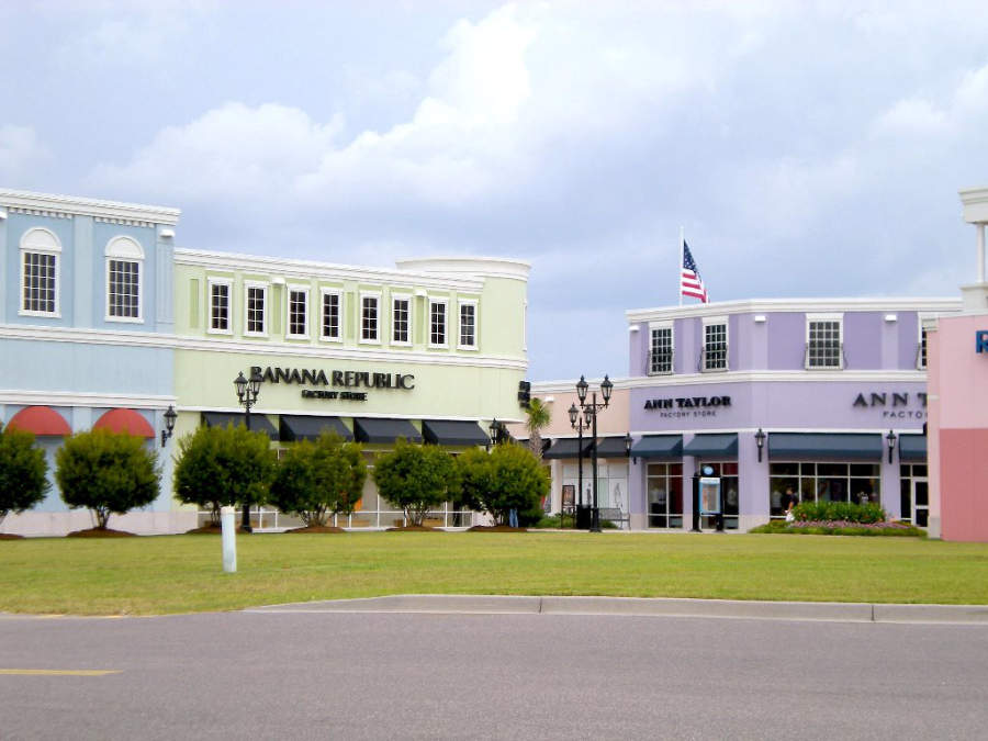 Centro comercial Tanger Outlets en North Charleston