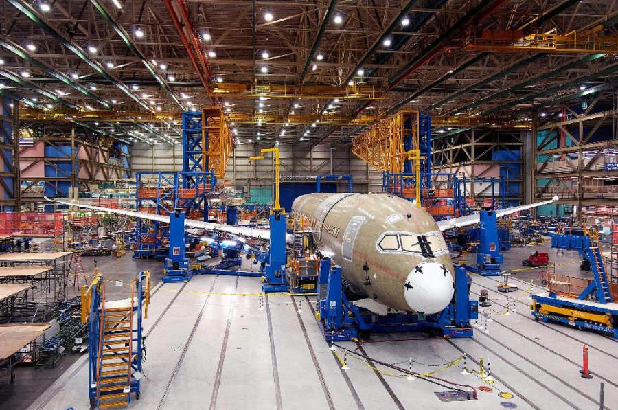 North Charleston es una de las cuatro ciudades en el mundo que produce aviones comerciales