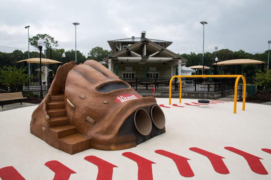 El Parque Wescott tiene tres canchas para jugar béisbol