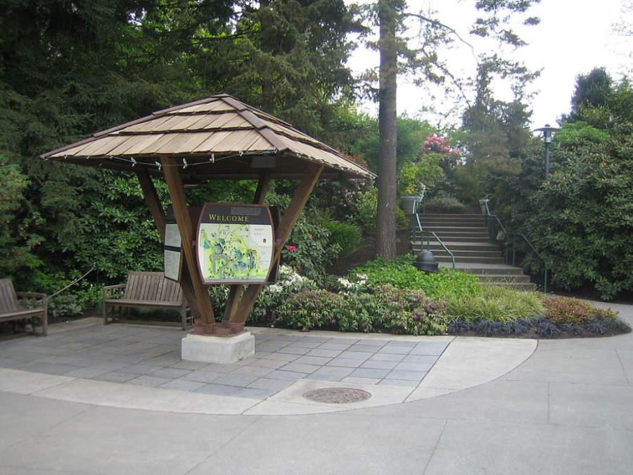 Visita el Jardín Botánico de Bellevue