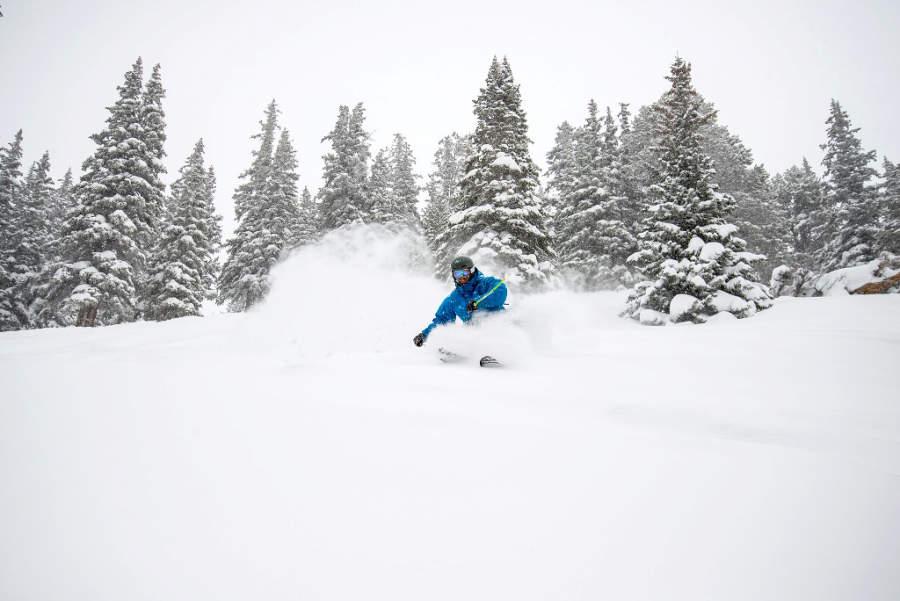 La montaña en Keystone es ideal para esquiadores de todos los niveles