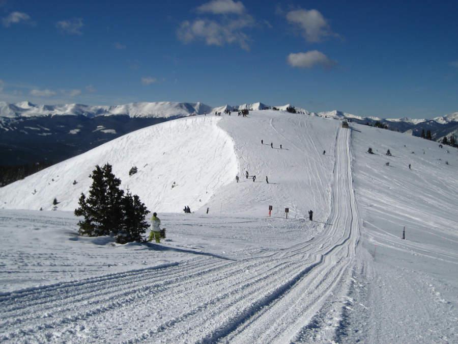 El área de esquí en Keystone se compone de tres montañas