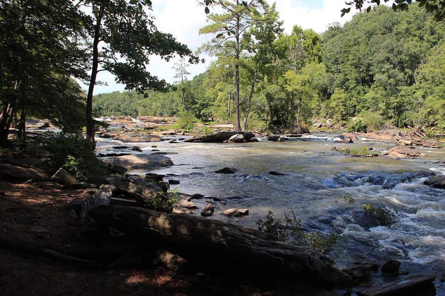 Disfruta del parque Sweetwater Creek State Park en Lithia Springs