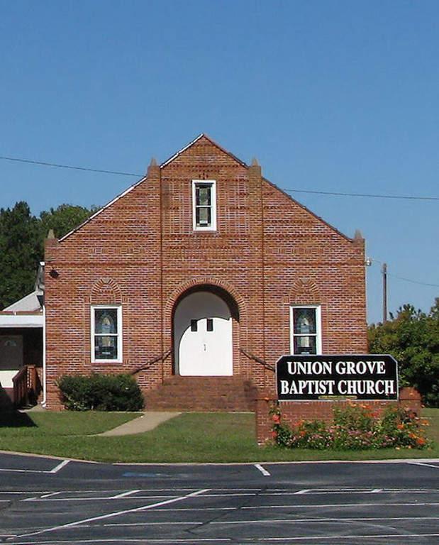 Iglesia Bautista Union Grove en Lithia Springs, Georgia