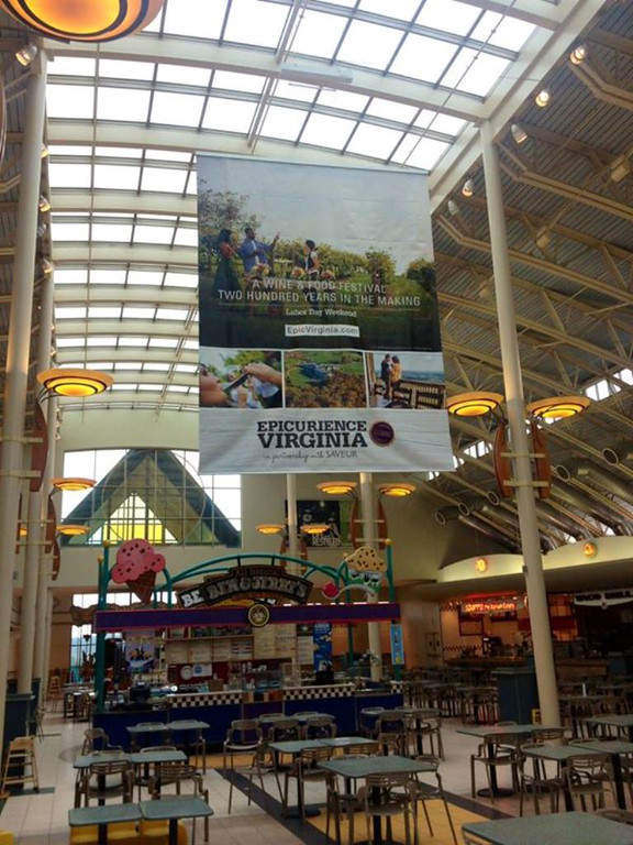 Instalaciones del centro comercial Dulles Town Center