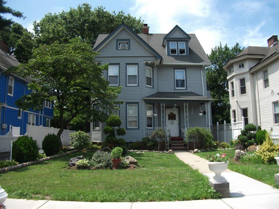 Casa antigua en la ciudad de Englewood