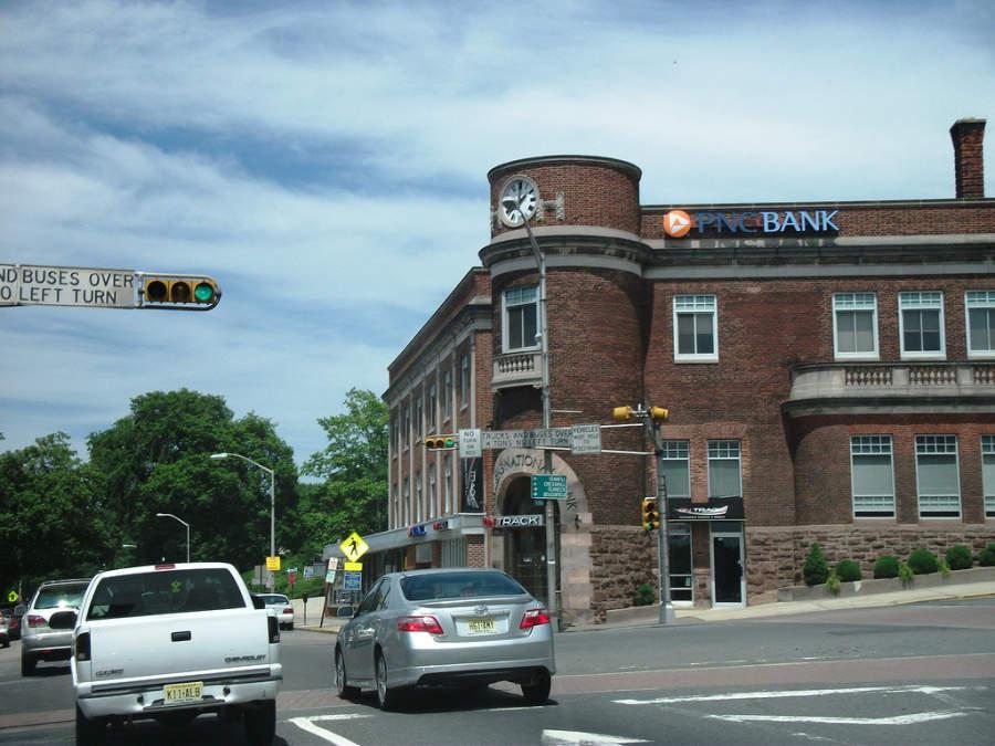 Edificio en el centro de la ciudad de Englewood