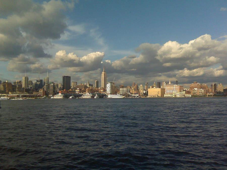 Vista de Manhattan desde la ciudad de Hoboken