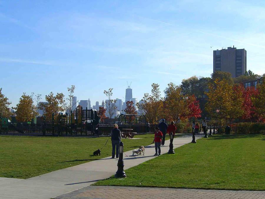 Parque Frank Sinatra en Hoboken, Nueva Jersey