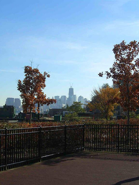 Parque Elysian en la ciudad de Hoboken