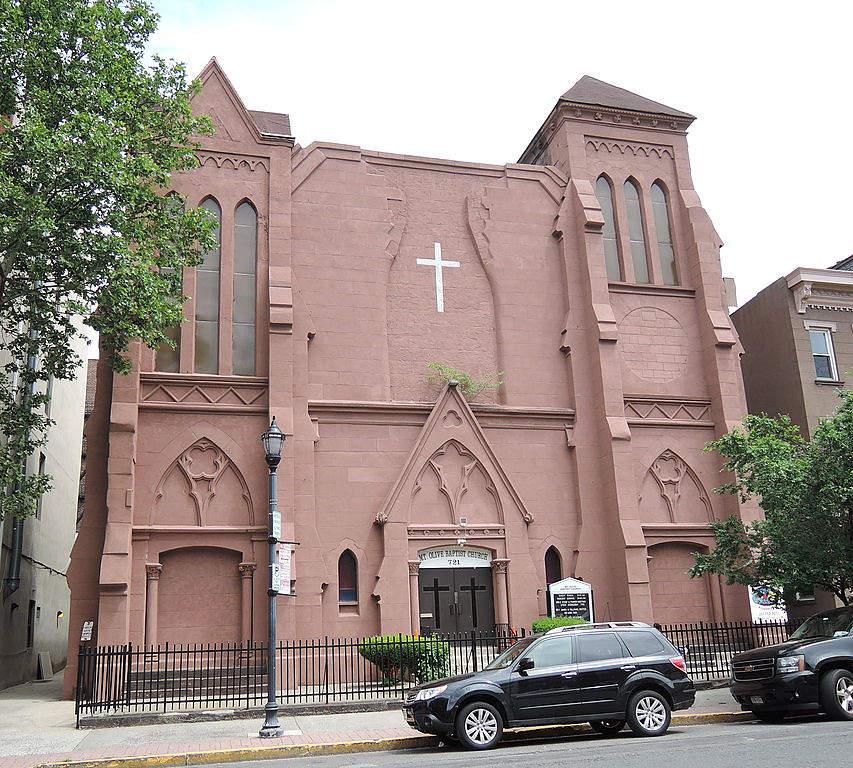 Templo en la ciudad de Hoboken, Nueva Jersey