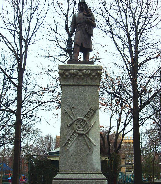 Monumento a los bomberos en la ciudad de Hoboken