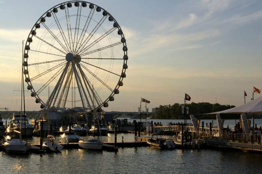 The Capital Wheel, rueda de la fortuna inspirada en la Roue de París
