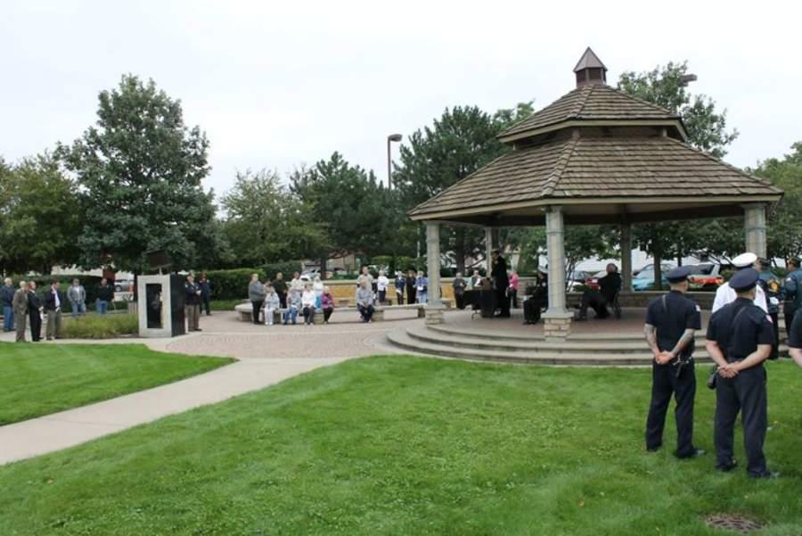 El parque Clocktower es uno de los más concurridos de Schiller Park