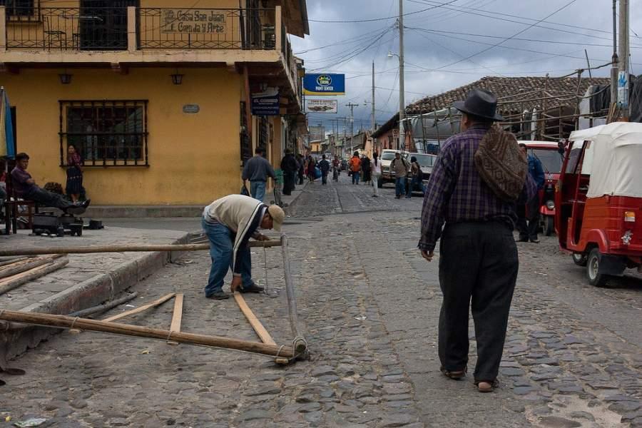 Chichicastenango significa lugar de los arbustos de Zarza