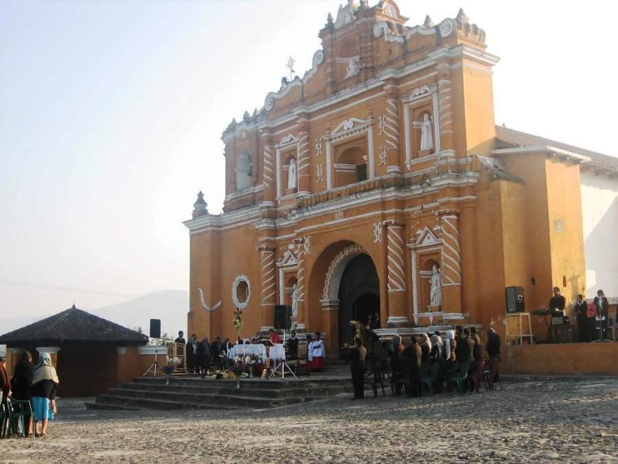Templo de San Pedro Las Huertas, Guatemala