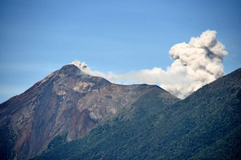 La ciudad de Alotenango está rodeada por los principales volcanes de la región