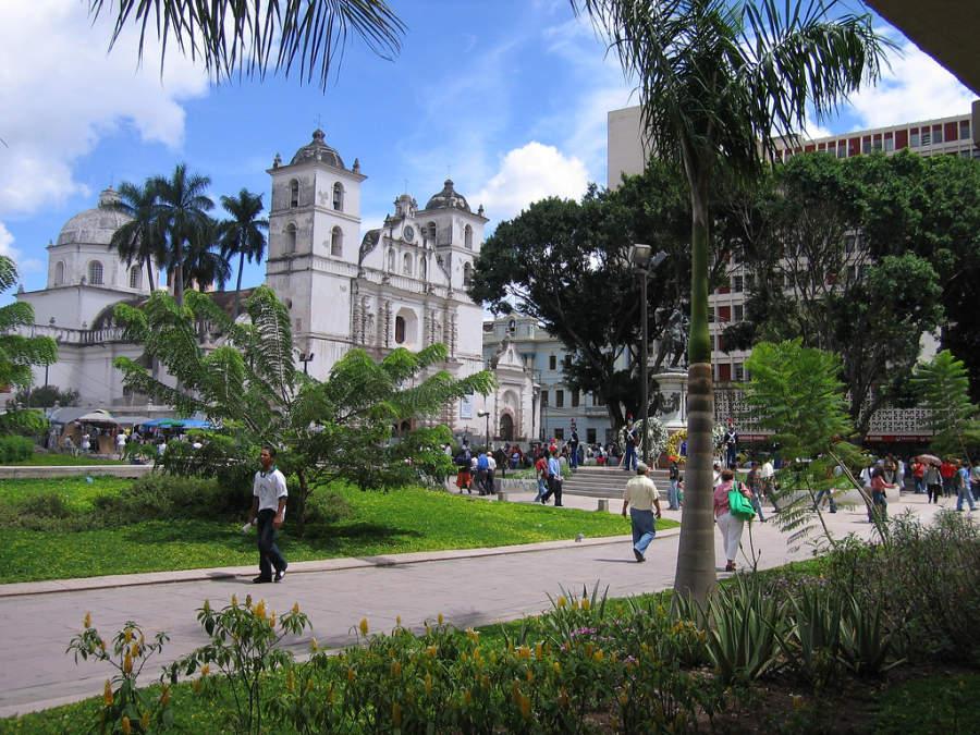 Iglesia en Tegucigalpa
