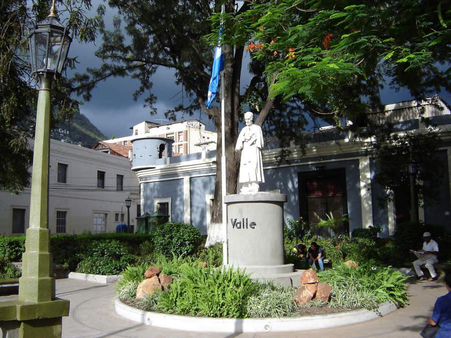 Monumento en la ciudad de Tegucigalpa